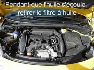 Remplacement Filtre Habitacle 3008 : tutoriel vidange huile moteur et changement du filtre huile citro n ds3 youtube ~ Medecine-chirurgie-esthetiques.com Avis de Voitures