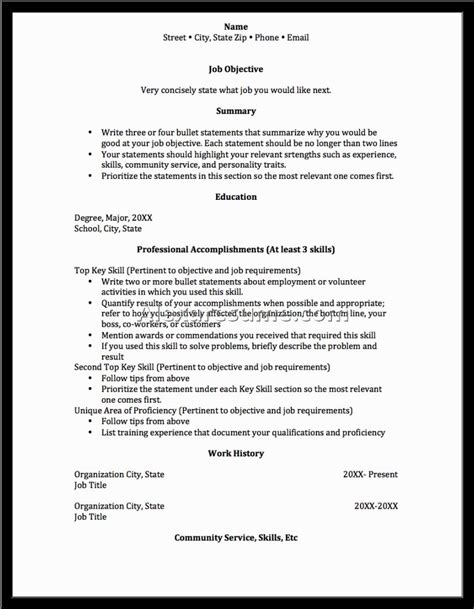19305 functional resumes exles magnificent resume template for seekers