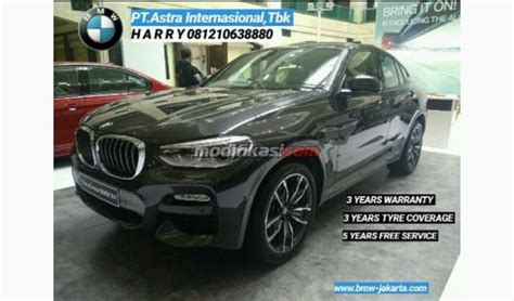 Modifikasi Bmw X4 by 2019 Bmw All New X4 Xdrive 28i Msport Ready Stock