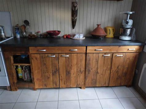 Porte De Cuisine En Bois Brut - meubles cuisine bois meuble de cuisine en bois moderne
