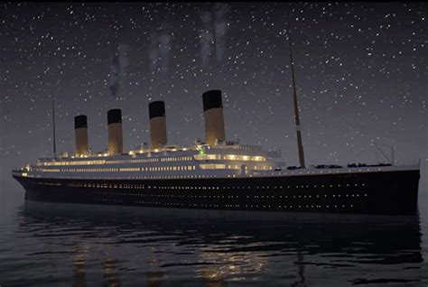 titanic sinking animation real time the rms titanic sink in real time mental floss