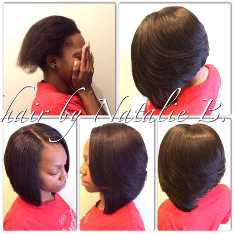 Layered Sew In Weave Hairstyles by Sew In Layered Bob Hairstyles Fade Haircut