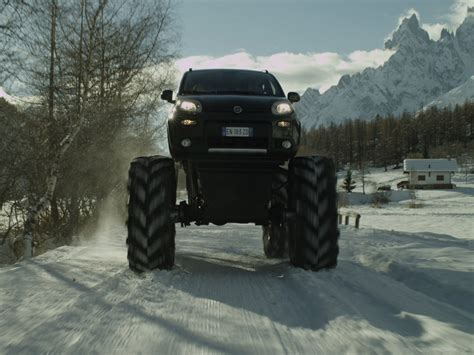 Fiat Panda Monster Truck 2018 Exotic Car Wallpaper 03 Of