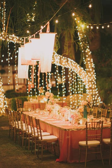 65 breathtaking string bistro lighting wedding ideas you