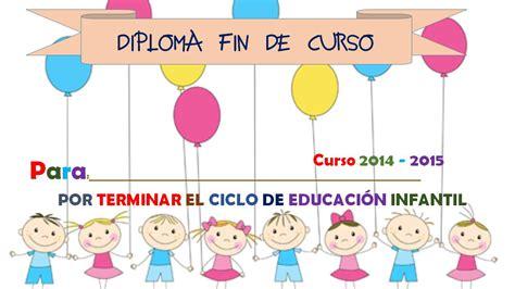 diplomas fin de curso 13 imagenes educativas