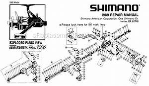 Shimano 3500 Parts List And Diagram