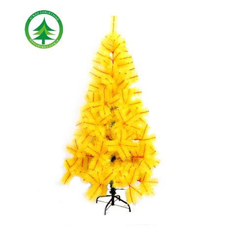 180cm Yellow Artificial Pine Christmas Tree,hot Sale