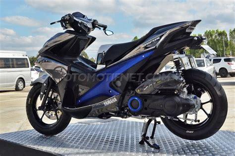 Modifikasi Yamaha Aerox 155 by Modifikasi Yamaha Aerox 155 Vva Sporty From Thailand