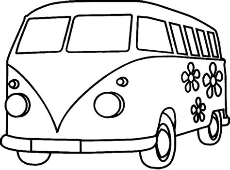 volkswagen bus drawing 12 best vw bus images on pinterest drawings coloring