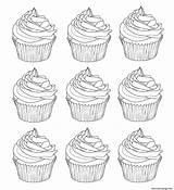 Coloring Warhol Cupcakes Pages Printable Cup Adults Andy Cakes Template Sheet Info Cupcake Inspired Sheets Templates Cake Adult Dessert Coloriage sketch template