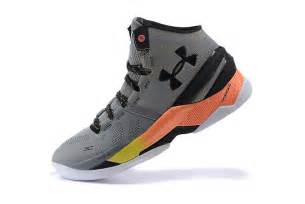 Stephen Curry Black and Grey Shoes