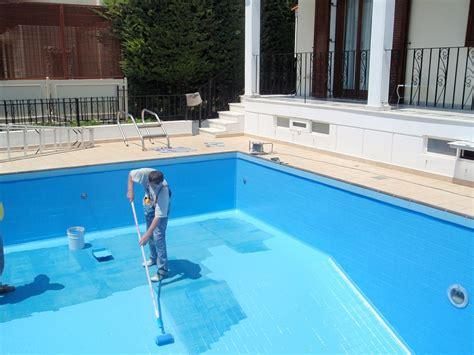 bermuda commercial epoxy swimming pool paint project aqua