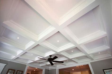 Simple Coffered Ceiling by Review About Coffered Ceiling Cookwithalocal Home And