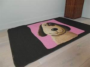 tapis avec chien pour chambre enfant onlinemattenshopbe With tapis chambre bébé avec bouquet internet