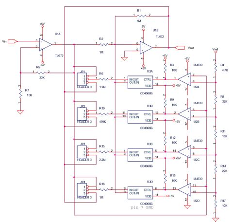 linearizing circuit  thermocouples delabs schematics