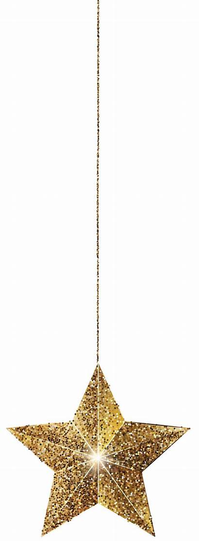 Hanging Clipart Clip Golden Stars Yopriceville Transparent
