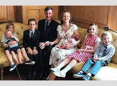 Jacob ReesMogg, 48, proudly shows off his brood Daily