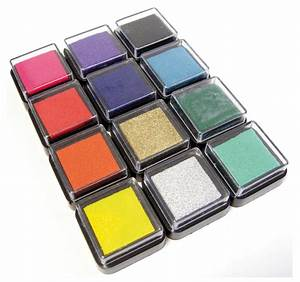 Ungiftige Farben Für Kindermöbel : stempelkissen 12er set 12 farben stempel kissen ~ Whattoseeinmadrid.com Haus und Dekorationen