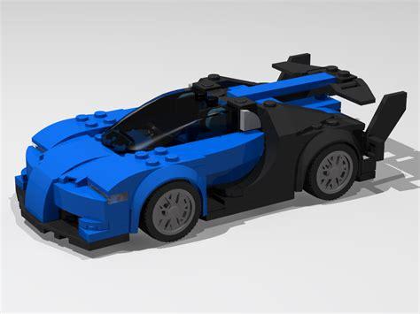 Speed build and building instructions for custom lego bugatti chiron speed champions set 75878 alternative moc model. LEGO MOC-11241 Bugatti Vision Gran Turismo (Creator > Model 2017) | Rebrickable - Build with LEGO