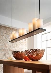 Leuchte über Esstisch : schmiedeeisen leuchter mit downlights hl 2431 casa lumi ~ Michelbontemps.com Haus und Dekorationen