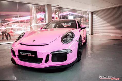 pink porsche spotlight gloss pink porsche 991 gt3