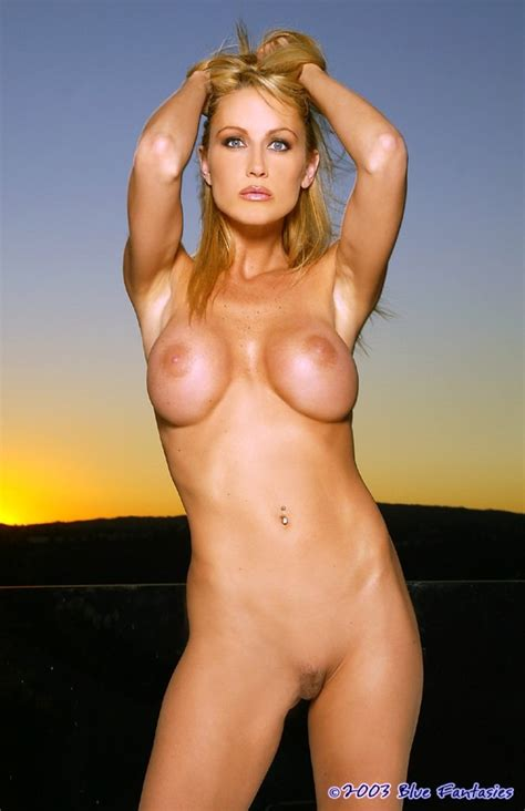 Smooth Bodied Busty Bombshell Deanna Takes Her Military