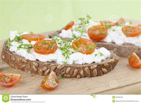 Healthy Snacks With Cottage Cheese by Cottage Cheese Snacks Royalty Free Stock Image Image