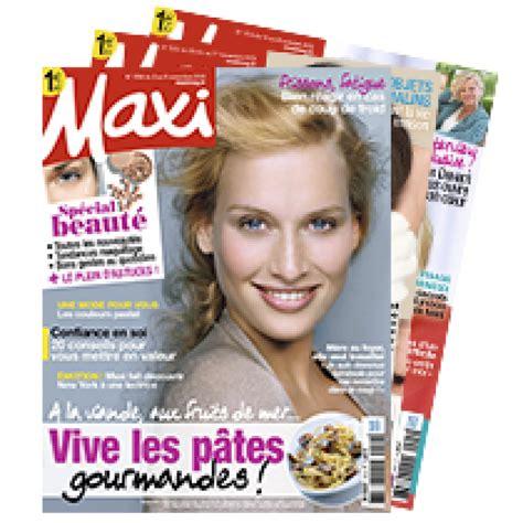 abonnement maxi cuisine abonnement magazine maxi abobauer com