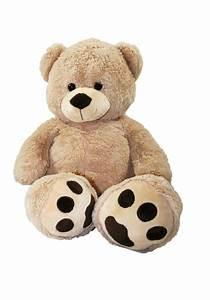 Riesen Panda Kuscheltier : xxl teddyb r b r 1m riesen gro kuscheltier 100 cm teddy pl schtier ebay ~ Orissabook.com Haus und Dekorationen