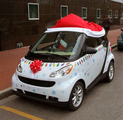 christmas decoration for cars best car decorations of 2013