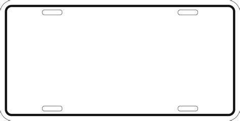 license plate template  commercewordpress