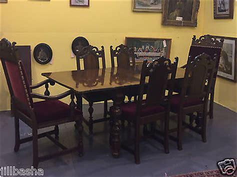 vintage walnut dining room set antique berkey walnut dining room set table chairs 8847