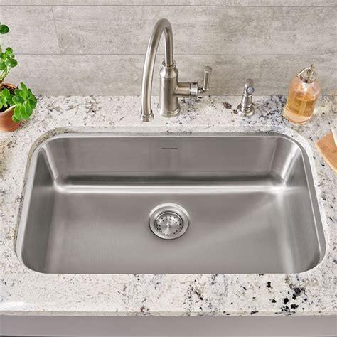 standard kitchen sink portsmouth undermount 30x18 single bowl kitchen sink 2484
