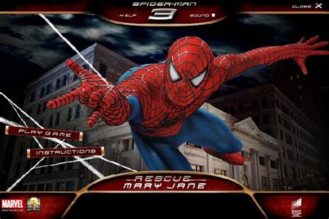 spiderman  rescue mary jane game spiderman games