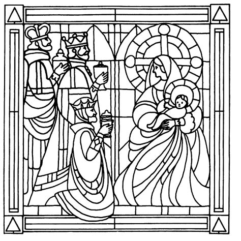 Kleurplaat Glas In Lood Vormen by Glas In Lood Kleurplaten Kleurplatenpagina Nl