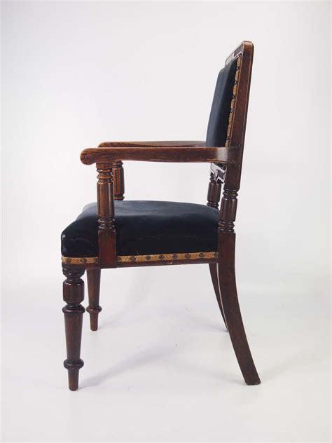 Oak Armchair by Antique Gentlemans Edwardian Oak Armchair