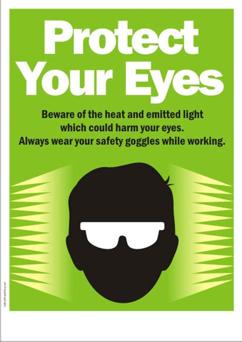 Light Therapy Glasses by Eye Safety Safety Poster Shop Safety Poster Shop