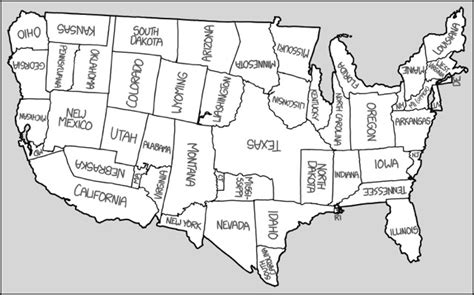 Map Of The United Repositioned States