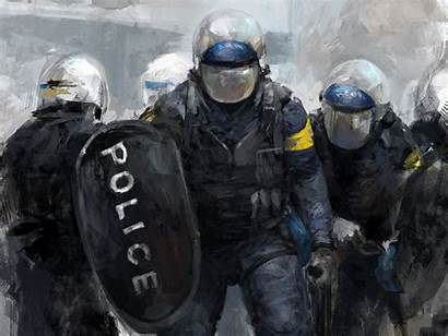 Police Desktop Backgrounds Wallpapers Computer Theme Officer