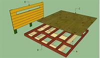 how to make a platform bed frame Platform bed frame plans | HowToSpecialist - How to Build, Step by Step DIY Plans