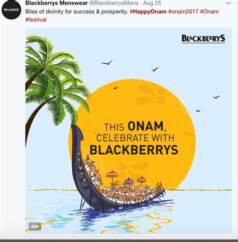 Brands Engage With Consumers Through Interesting Onam