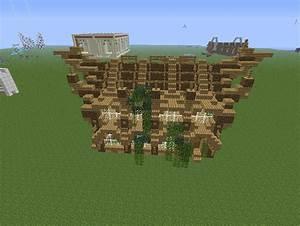 Maison En Bois Minecraft Mzaol com