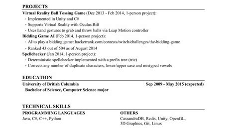 Sle Big 4 Internship Resume by How To Land A At The Big 4 Microsoft