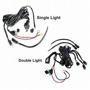 China Auto Electric Car Led Headlight Fog Light Wire