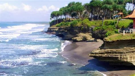 pantai pangandaran tempat wisata  pangandaran jawa