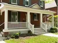 front porch plans Wooden Porch Railings Ideas