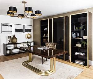 William, Luxury, Home, Office, Desk, A, Statement, Desk, That, Commands, Respect, With, Its, Dramatic