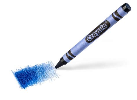 color crayon crayola new blue color crayon take look help name