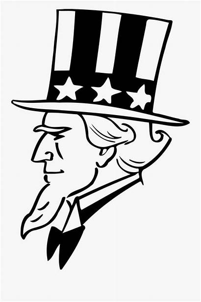 Uncle Sam Cartoon Drawing Clipart Clipartkey