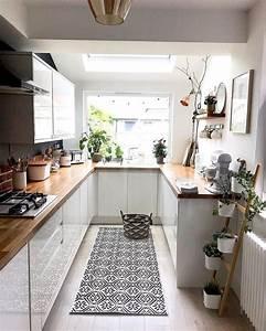 20, Beautiful, Galley, Kitchen, Ideas